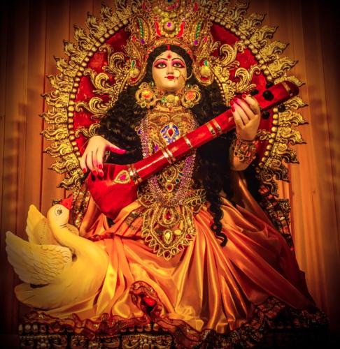 the Goddess Saraswati 2021